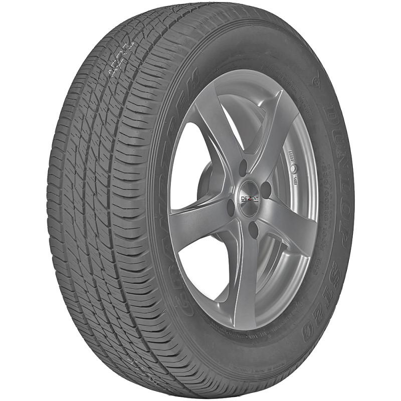 opona samochodowa letnia Dunlop GRANDTREK ST20 w rozmiarze 265/65R17 z indeksem nośności 112 i prędkości S - widok z boku