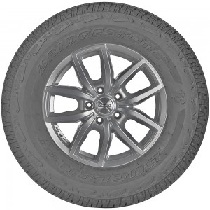 opona całoroczna Bridgestone DUELER AT 001 w rozmiarze 215/65R16 z indeksem nośności 98 i prędkości T - widok z profilu