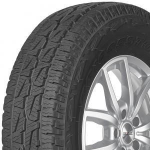 opona całoroczna Bridgestone DUELER AT 001 w rozmiarze 215/65R16 z indeksem nośności 98 i prędkości T - wycinek