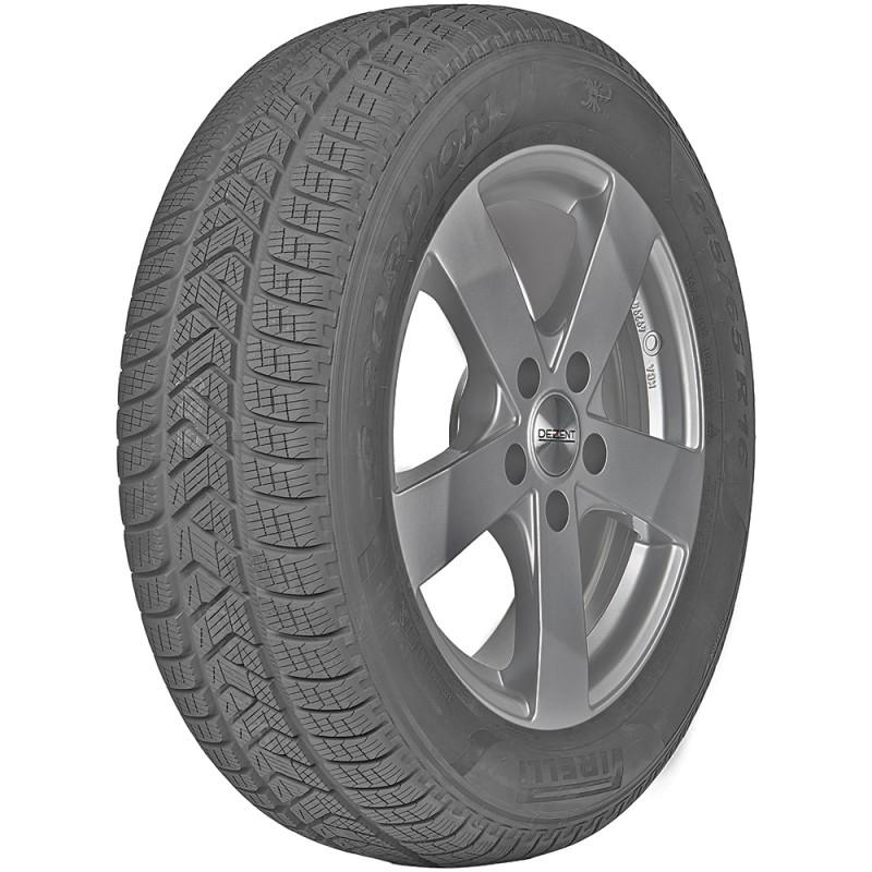 opona samochodowa zimowa Pirelli SCORPION WINTER w rozmiarze 255/45R20 z indeksem nośności 105 i prędkości V - widok z boku