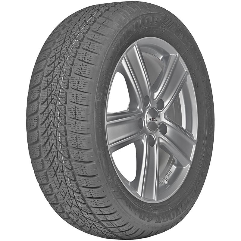 opona samochodowa zimowa Dunlop SP WINTER SPORT 4D w rozmiarze 215/55R18 z indeksem nośności 95 i prędkości H - widok z boku