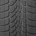 opona zimowa Dunlop SP WINTER SPORT 4D w rozmiarze 215/55R18 z indeksem nośności 95 i prędkości H - widok bieżnika